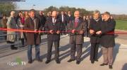 Eröffnung des Umsteigeplatzes in Serams
