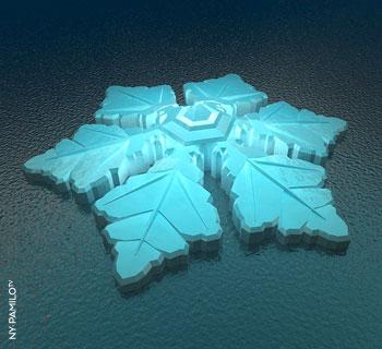 The Krystall - Norwegens schwimmendes Eishotel