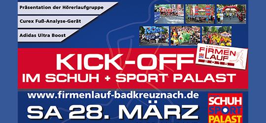 KICK-OFF im Schuh+Sport Palast