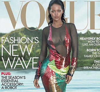 Rihanna on vogue