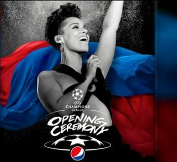 Alicia Keys tritt bei Champions-League-Finale auf