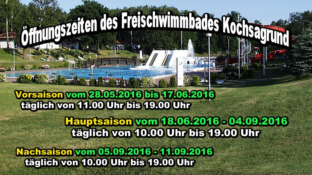 Schwimmbad Kochsagrund