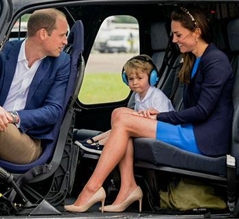 Prinzchen George wird 3 Jahre alt