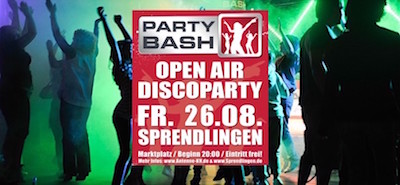 PARTYBASH in Sprendlingen