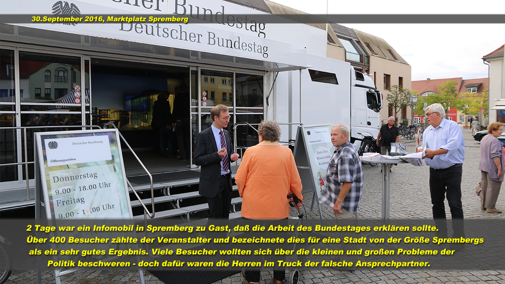 Infomobil Bundestag