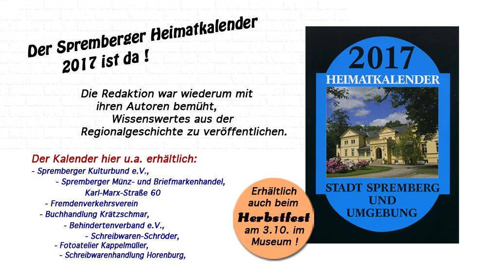 Heimatkalender 2017