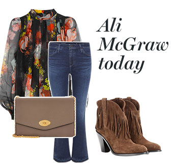 Ali McGraw Today - the Look!