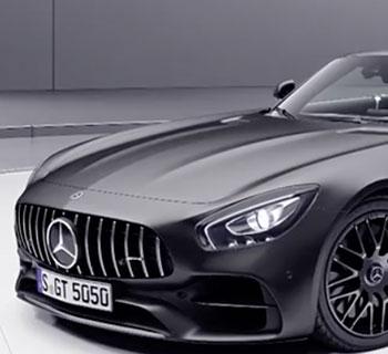 Mercedes AMG  Spezial Roadsterle. GT-C Roadster als limitiertes Sondermodell