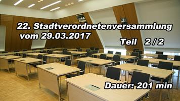 22.Sitzung der Stadtverordneten von Spremberg 2/2