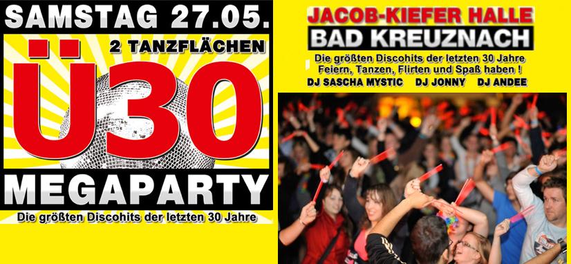 Ü30 MEGAPARTY in Bad Kreuznach
