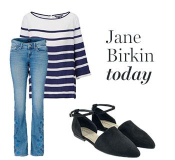 Jane Birkin - The Look today!