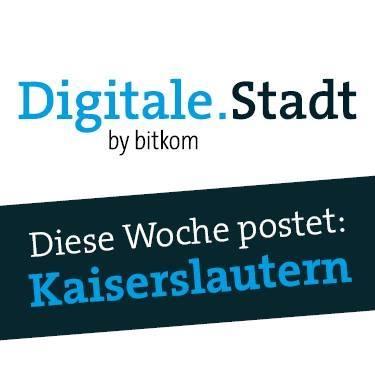 Liken Sie Kaiserslautern zur Digitalen Stadt-Image