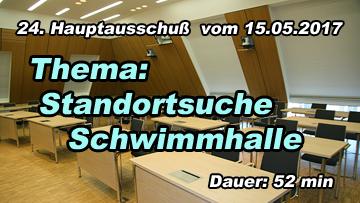 24.HA - Thema: Standort Schwimmhalle