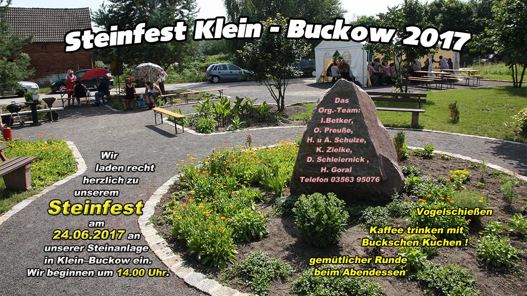 Steinfest Klein Buckow
