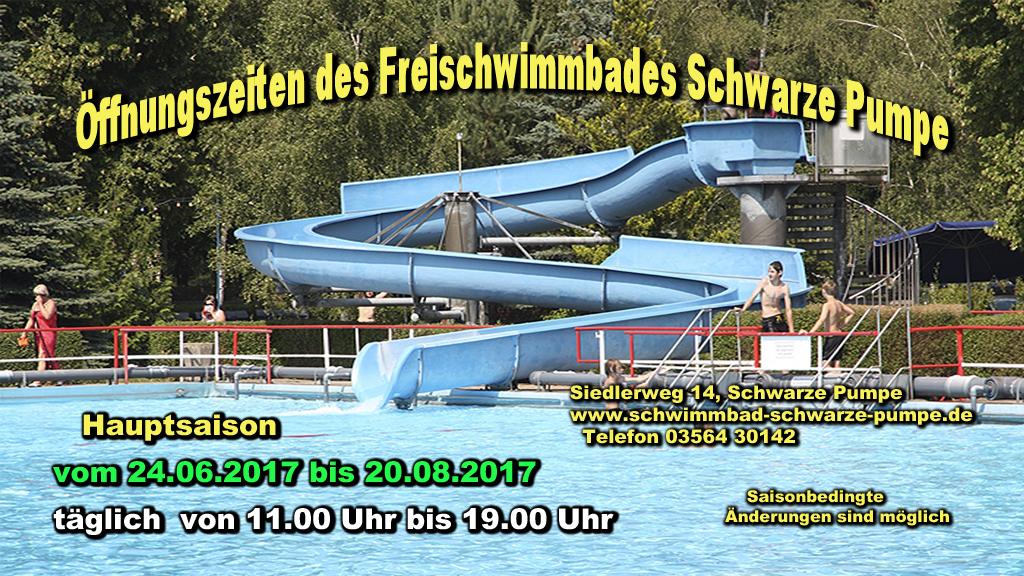 Schwimmbad Schwarze Pumpe 2017