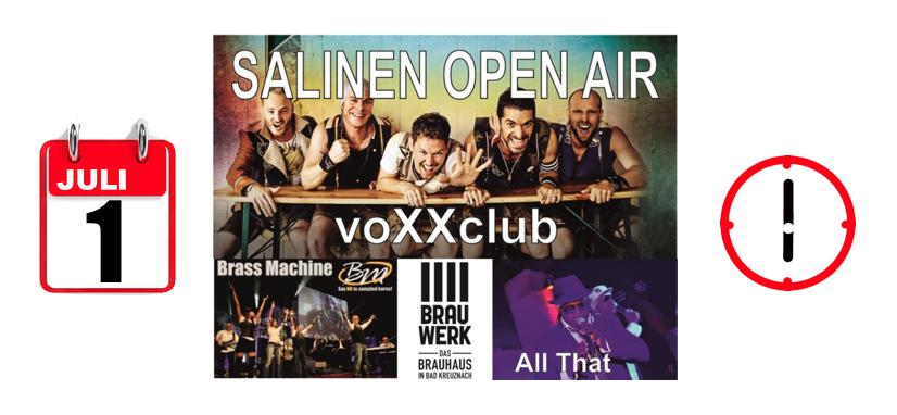 ANTENNE präsentiert das SALINEN OPEN AIR 2017