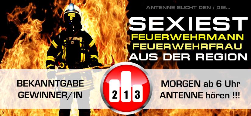 ANTENNE SUCHTE DEN SEXIEST FEUERWEHRMANN /-FRAU IM SENDEGEBIET