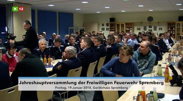 Jahreshauptversammlung der Freiwilligen Feuerwehr Spremberg
