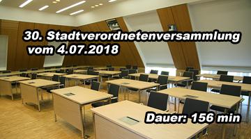 30.Sitzung der Stadtverordneten Spremberg