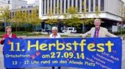 11. Herbstfest am Samstag in Lobeda