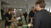 Aktionstag veranstaltet: Der Verein Thüringer Ökoherz war zu Gast in der Uni-Mensa