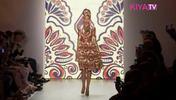 Feminine Ethno Looks für Frühjahr/Sommer 2015 bei Lena Hoschek auf der Mercedes Benz Fashion Week