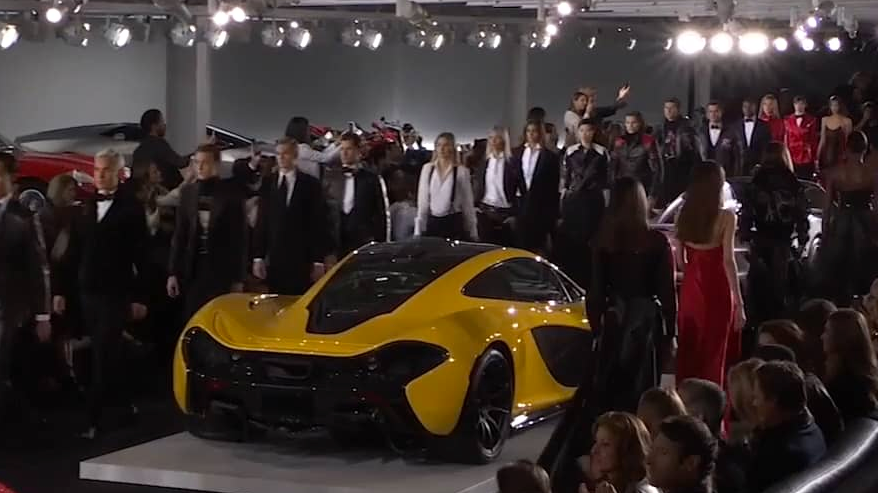 RALPH LAUREN CAR COLLECTION – NYC FASHION WEEK S/S 18