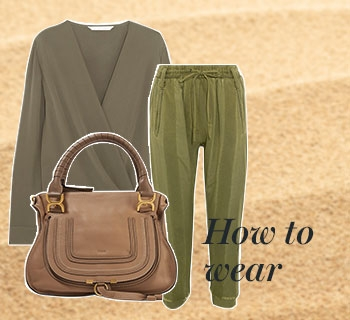 Khaki kombinieren – How to wear