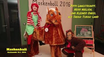 Maskenball am 16.Januar 2016 im Dorfgemeinschaftshaus Haidemühl