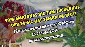 Faschingsprogramm des FC MC 2016
