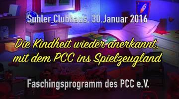 Faschingsprogramm des PCC e.V. 2016