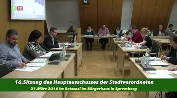 16.Hauptausschuß der SVV Spremberg