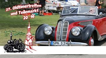 Oldtimer Teilemarkt & Treffen 2016