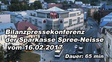 Bilanzpressekonferenz der Sparkasse Spree-Neiße