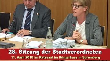 28.Stadtverordnetenversammlung Spremberg 1-2