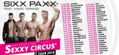 Sixx Paxx feat. Marc Terenzi Sexxy Circus Tour