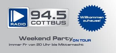 DJ Lars on Tour mit der 94.5 Radio Cottbus Weekend Party-Image