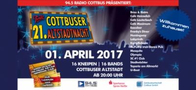 1. APRIL: 21. COTTBUSER ALTSTADTNACHT-Image