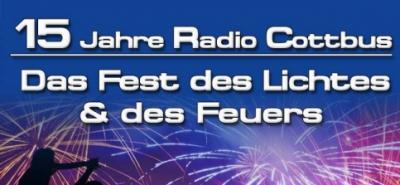 19. August: 15 JAHRE RADIO COTTBUS Das Fest des Lichtes und des Feuers-Image