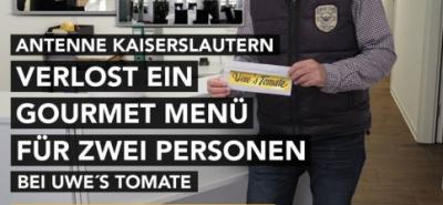 Antenne verlost ein Gourmet Menü für 2 Personen-Image