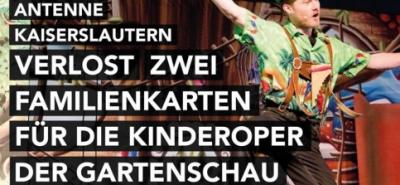 Antenne verschenkt Karten für die Kinderoper - Aida und der magische Zaubertrank-Image