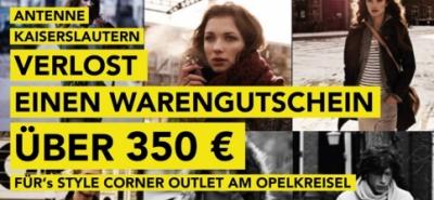 Antenne verschenkt 350€ Shoppinggutschein-Image
