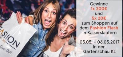 Antenne KL und Fashion Flash verlosen einen Einkaufsgutschein im Wert von 200 €-Image