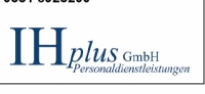 IH plus GmbH sucht zur Festeinstellung : -Image