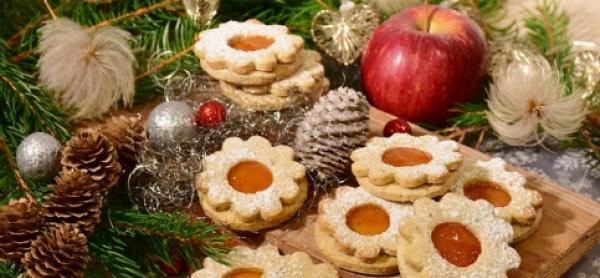 Pinien-Rosmarin-Kekse mit Clementinen-Füllung-Image