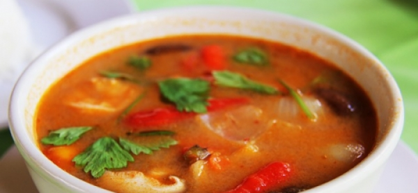 Asiatisches Curry mit Garnelen-Image