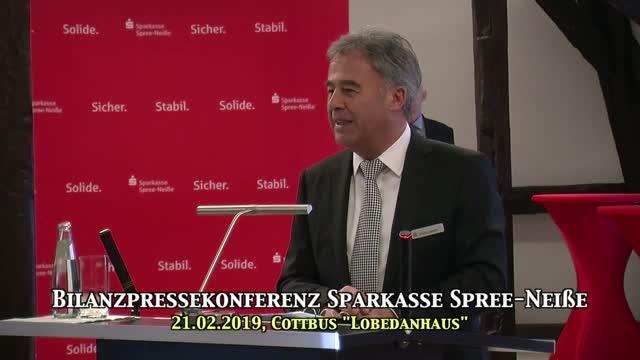 Bilanzpressekonferenz der Sparkasse Spree-Neiße 2019