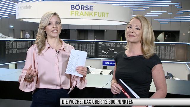 Die Woche: DAX knackt 12.300; Bankenfusion gescheitert; Flut an Unternehmenszahlen