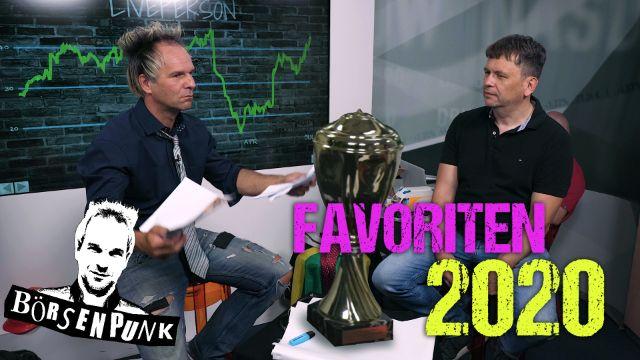 Börsenpunk: Das sind die Favoriten für das zweite Halbjahr 2020!
