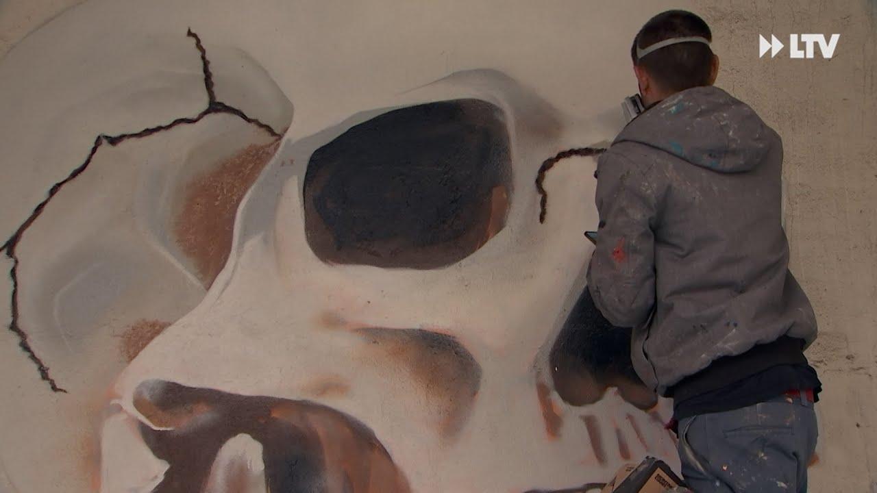 Wenn ein verlassener Ort zur Galerie wird - Urban Art Forst